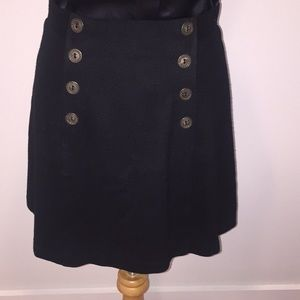 Express Wool Mini with Button Detail
